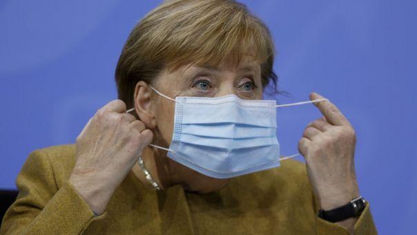 Μέρκελ: Παράταση lockdown μέχρι τις 10/1 του 2021 και έγκριση εμβολίου από ΕΕ τέλος Δεκεμβρίου του 2020