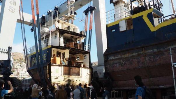 Εκσυγχρονισμός επιστημονικού πλοίου από το Ελληνικό Κέντρο Θαλασσίων Ερευνών