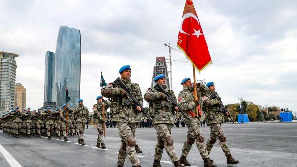 Ναγκόρνο Καραμπάχ: Στο Αζερμπαϊτζάν Τούρκοι στρατιωτικοί - Θα επιτηρήσουν την εκεχειρία
