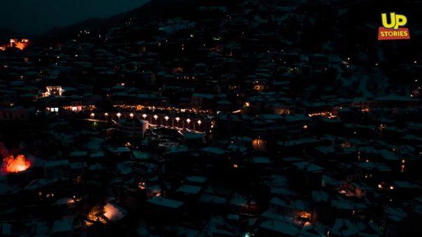 Αράχωβα: Η βασίλισσα του χιονιού καιχειμερινής διασκέδασης στα καλύτερα της (video)
