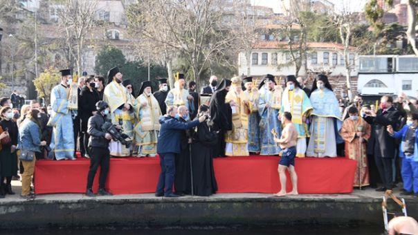 Με μεγαλοπρέπεια ο εορτασμός των Θεοφανείων στο Φανάρι