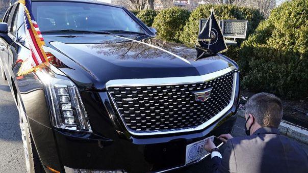 ΗΠΑ: Το «Κτήνος» του Μπάιντεν- Γιατί το αυτοκίνητο του νέου προέδρου είναι τόσο ακριβό (video)