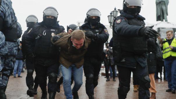 Ρωσία: Δεκάδες συλλήψεις υποστηρικτών του Αλεξέι Ναβάλνι