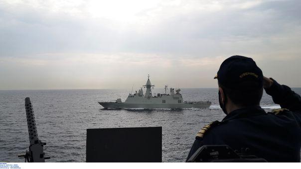 Συνεκπαίδευση της φρεγάτας ΥΔΡΑ και περιπολικών σκαφών των ΗΠΑ στον Περσικό Κόλπο (pics)