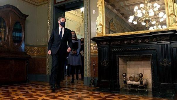 ΥΠΕΞ ΗΠΑ, Γαλλίας, Γερμανίας στηρίζουν Κίεβο και καλούν τη Μόσχα να σταματήσει προκλήσεις