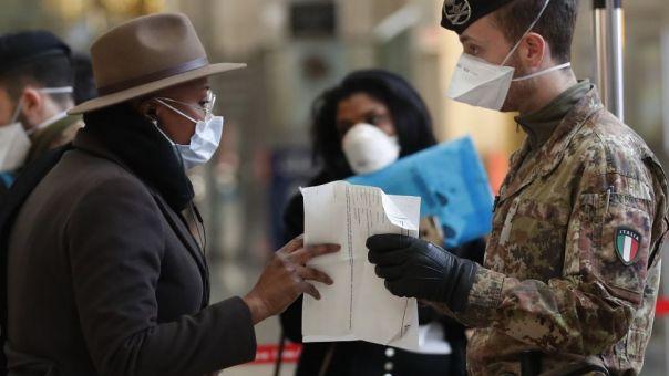 Ιταλία: 17.455 νέα κρούσματα κορωνοϊού, με 192 νεκρούς