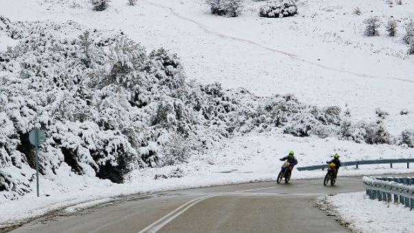 Στην «κατάψυξη» η Ήπειρος -Ποιοι δρόμοι είναι κλειστοί