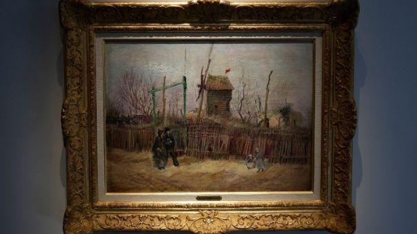 Πίνακας Βαν Γκογκ της σειράς Μονμάρτης σε δημοπρασία- Eκτιμήσεις για την αξία