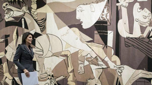 ΗΠΑ: Δεν θα επιστρέψει στον ΟΗΕ η ταπετσαρία με την Γκερνίκα