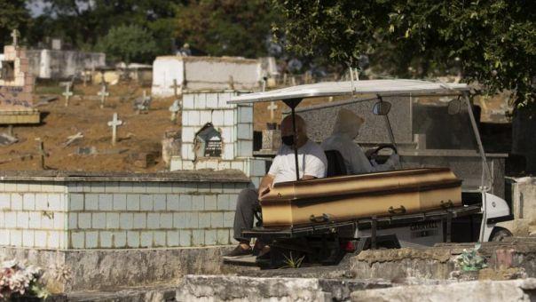 Βραζιλία: Νέο τραγικό ρεκόρ με 1.910 θανάτους σε 24 ώρες