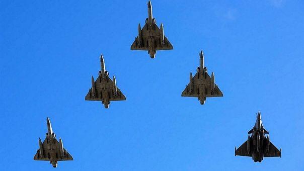 Κοιτάξτε ψηλά στη 1.15 – Δοκιμαστικές πτήσεις μαχητικών στην Αττική ενόψει 25ης Μαρτίου
