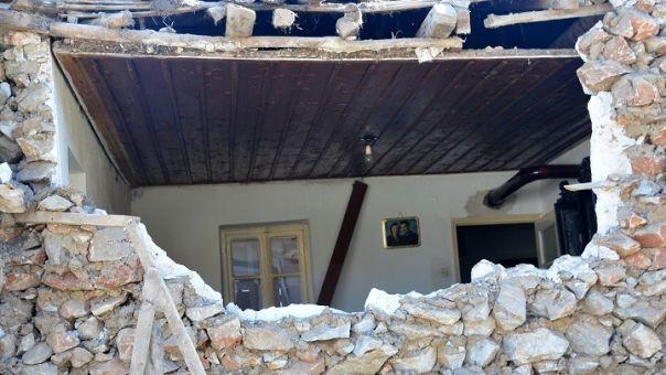 Σεισμός Θεσσαλία: Μη κατοικήσιμα προσωρινά 1.343 σπίτια