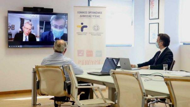 """Πάιατ προς Τσιόδρα - Αρκουμανέα: """"Η επιστημονική προσέγγιση της Ελλάδας μάθημα για όλους μας"""""""