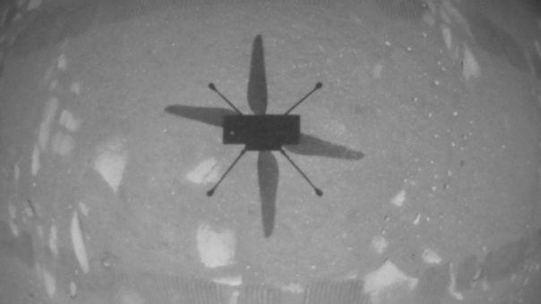 NASA: Γεγονός η ιστορική πτήση στον 'Αρη από το ελικόπτερο Ingenuity (pic+vid)