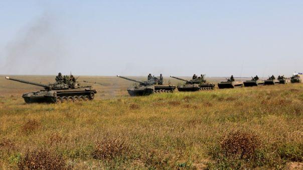 «Αντιτρομοκρατικές» ασκήσεις της Ουκρανίας κοντά στην Κριμαία