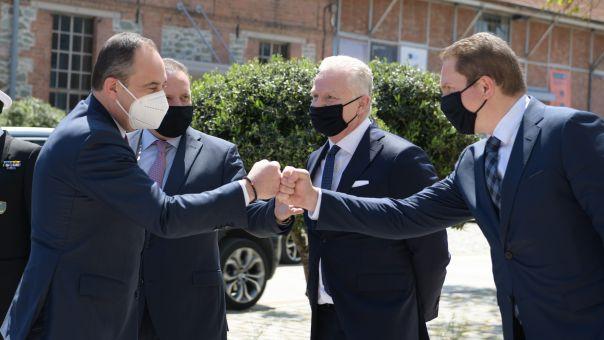 Συνάντηση Πλακιωτάκη με τον Εκτελεστικό Πρόεδρο ΔΣ και μέλη της Διοίκησης της ΟΛΘ