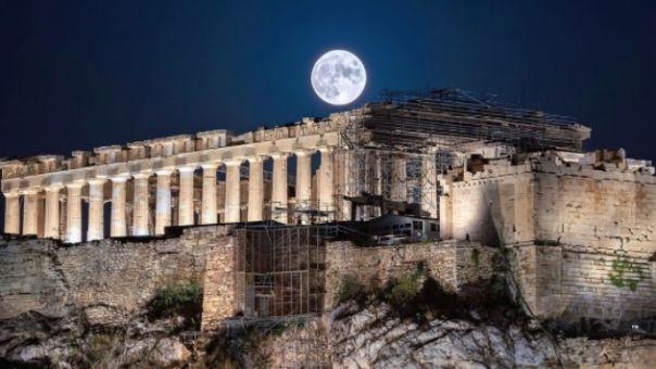 Darc Awards: Τριπλή διεθνής διάκριση για το νέο φωτισμό της Ακρόπολης στα «Όσκαρ» του φωτισμού