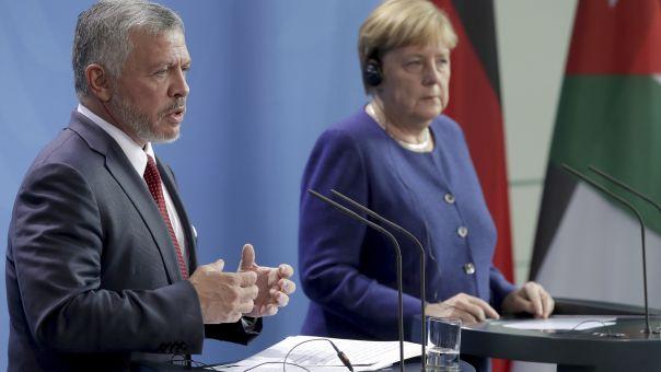 Μεσανατολικό: Άμεση κατάπαυση του πυρός ζητούν Μέρκελ και Βασιλιάς Αμπντάλα