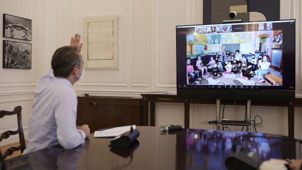 Μητσοτάκης σε μαθητές νηπιαγωγείων Ξάνθης: Ίσες ευκαιρίες σε όλα τα Ελληνόπουλα, ανεξαρτήτως θρησκείας