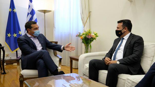 Συνάντηση Αλέξη Τσίπρα - Ζόραν Ζάεφ: Στο επίκεντρο η Συμφωνία των Πρεσπών