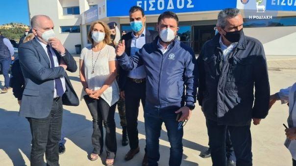 Χαρδαλιάς από Ρόδο: Προσπάθεια για να επιστρέψουν οι πολίτες ασφαλείς στην κανονικότητα