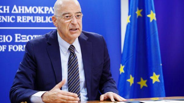 Στo Λουξεμβούργο για το Συμβούλιο Εξωτερικών Υποθέσεων της ΕΕ ο Δένδιας