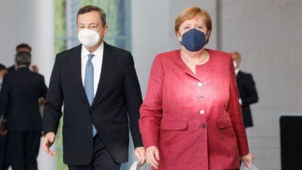 Μέρκελ και Ντράγκι υπέρ της περαιτέρω ανάπτυξης της συμφωνίας ΕΕ - Τουρκίας για Μεταναστευτικό