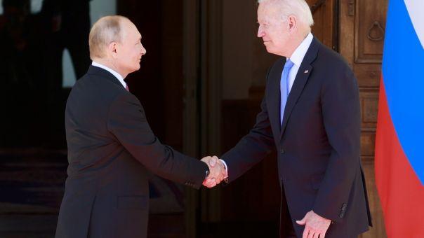 Μαραθώνια συνάντηση Μπάιντεν - Πούτιν- Χαμηλές προσδοκίες (Pics)