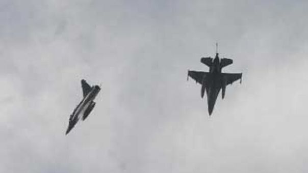 Δεύτερη μέρα υπερπτήσεων τουρκικών F-16 πάνω από Ανθρωποφάγους, Μακρονήσι και Οινούσσες