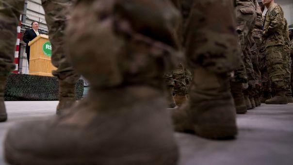 Συνεχίζεται η αποχώρηση των Αμερικανών στρατιωτών από το Αφγανιστάν