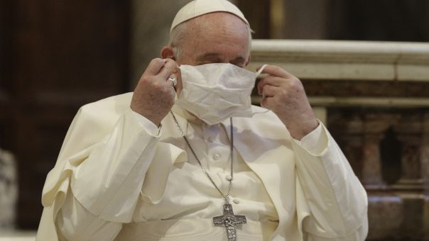 Κεραυνοί Πάπα για πολέμιους μάσκας: Στο μικρόκοσμό τους - Δεν θα διαμαρτύρονταν ποτέ για τον Φλόιντ