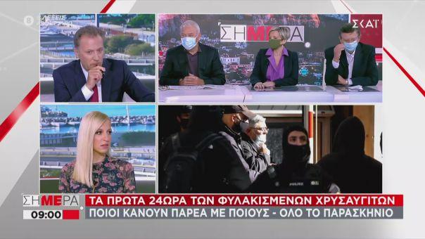 Νικολάου σε ΣΚΑΪ: Με τον κώδικα ΣΥΡΙΖΑ, οι χρυσαυγίτες θα πάνε αγροτικές φυλακές με άδειες (vid)